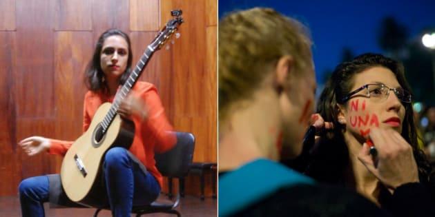 Violonista Mayara Amaral foi morta por três homens em Campo Grande (MS).