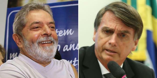 Lula e Bolsonaro são principais nomes na disputa pela Presidência em 2018, diz Datafolha.