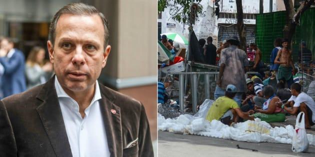 Conselho Federal de Psicologia critica mudanças feitas pelo prefeito de São Paulo, João Doria (PSDB) na Cracolândia.