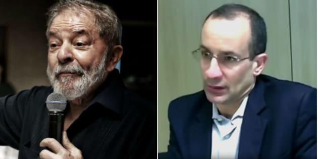 Ex-presidente Luiz Inácio Lula da Silva e Marcelo Odebrecht, ex-expresidente da empreiteira envolvida na Operação Lava Jato.