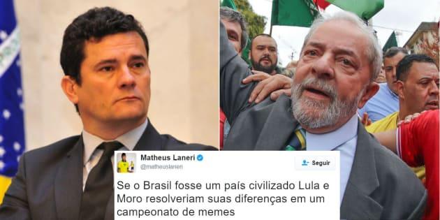 Depoimento do ex-presidente Lula ao juiz Sérgio Moro provoca clima de disputa nas redes sociais.