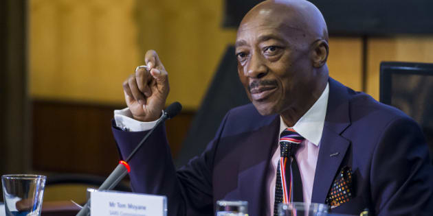 South African Revenue Services [SARS] commissioner Tom Moyane.