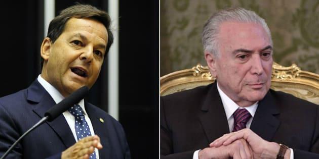 Deputado Sergio Zveiter (PMDB-RJ) é escolhido relator da denúncia contra o presidente Michel Temer.