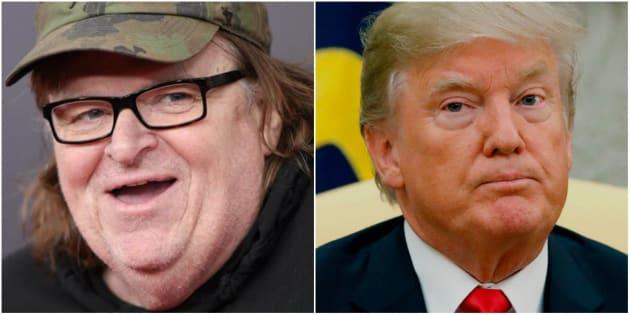 El cineasta Michael Moore ha sido uno de los más críticos de Donald Trump desde que estaba en campaña en 2016.