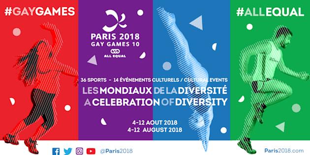 Les Gay Games s'installent à Paris pour la 1re fois