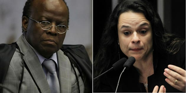 Ex-presidente do Supremo Tribunal Federal, Joaquim Barbosa, e autora do pedido de impeachment de Dilma Rousseff, Janaina Paschoal, defendem saída do presidente Michel Temer.