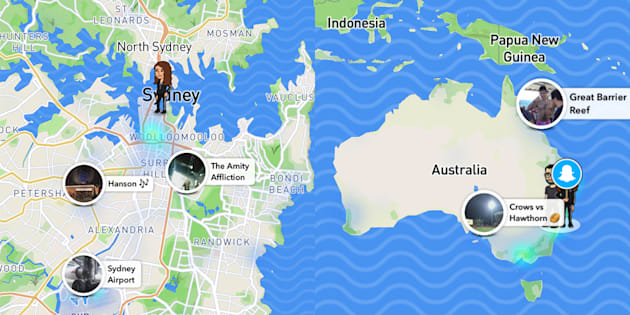 Snapchat launches snap map so you can track your mates on a map gumiabroncs Image collections