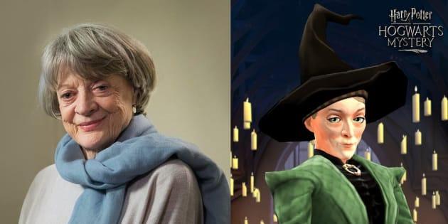 Atriz Maggie Smith dubla a personagem Professora McGonagall em game inédito.