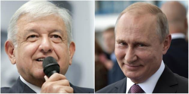 Luego de las elecciones del 1 de julio, Vladimir Putin fue uno de los jefes de Estado que felicitó a López Obrador por la victoria obtenida.