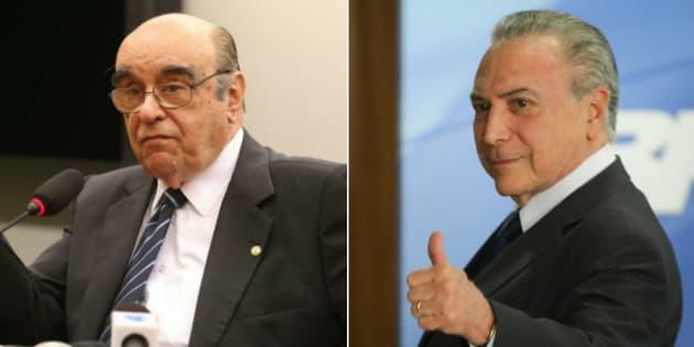 Relator da segunda denúncia contra o presidente Michel Temer, o deputado Bonifácio de Andrada (PSDB-MG) recomendou o arquivamento do processo.