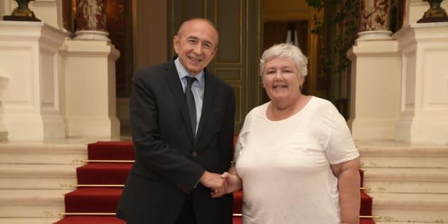 Jacqueline Gourault va seconder Gérard Collomb au ministère de l'Intérieur.