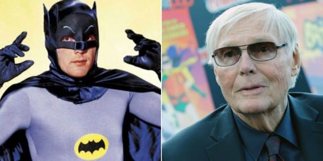 Ator americano Adam West, conhecido por interpretar o super-herói Batman na série de TV dos anos 1960, faleceu aos 88 anos.