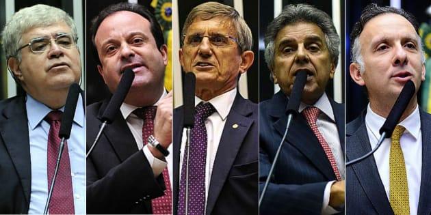 Carlos Marun (PMDB-MS), André Moura (PSC-SE), Darcísio Perondi (PMDB-RS), Beto Mansur (PRB-SP) e Aguinaldo Ribeiro (PP-PB) estão na linha de frente de defesa do presidente Michel Temer.