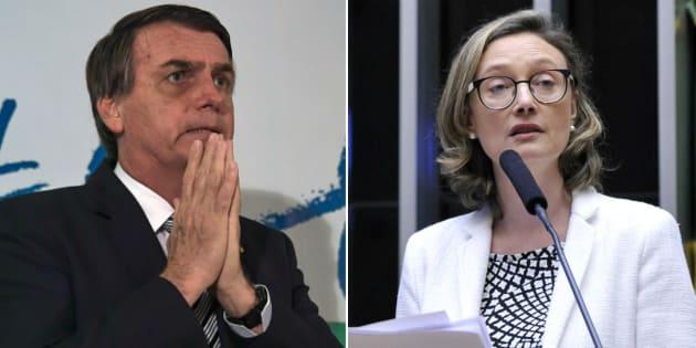 Resultado de imagem para Justiça do DF condena Bolsonaro a pagar R$ 10 mil a Maria do Rosário