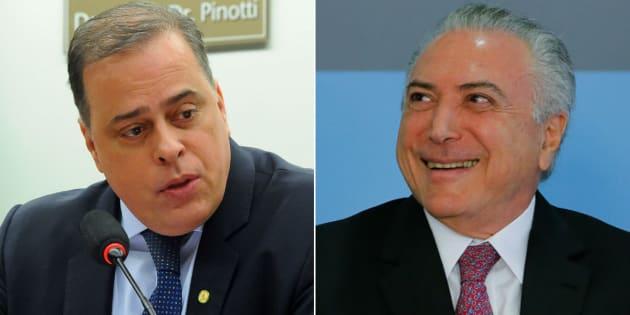 Câmara dos Deputados vota parecer de Paulo Abi-Ackel (PSDB-MG) para barrar denúncia contra presidente Michel Temer.