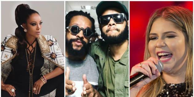 Negra Li, Emicida, Rael e Marília Mendonça são alguns artistas que apresentam no litoral brasileiro neste verão.