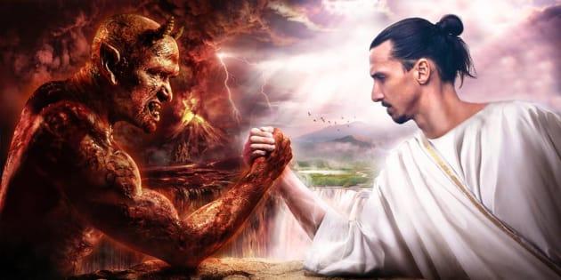 L'annonce originale de Zlatan Ibrahimovic sur son nouveau club