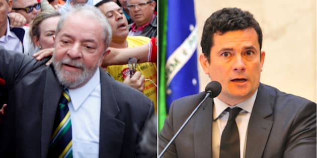 Ex-presidente Lula presta depoimento a juiz Sérgio Moro.