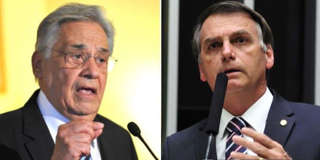 """O ex-presidente Fernando Henrique Cardoso (PSDB) afirmou que """"precisamos de alguém que não seja bizarro"""" para as eleições de 208, em referêncai ao pré-candidato à Presidência e deputado federal Jair Bolsonaro (PSC-RJ)."""