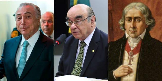 Relator da segunda denúncia contra presidente Michel Temer é o deputado Bonifácio de Andrada (PSDB-MG).