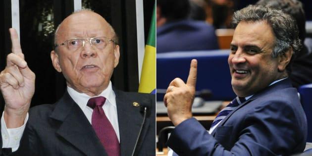 Senador João Alberto Souza arquivou processo que poderia cassar mandato do senador afastado Aécio Neves.