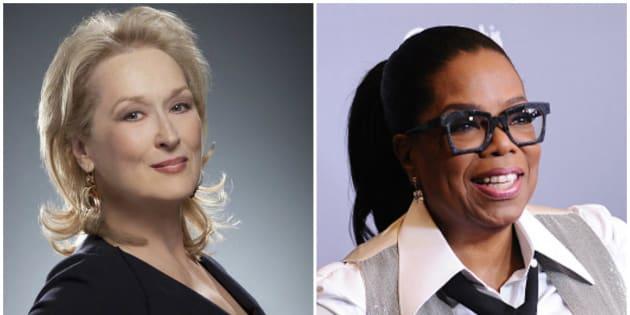 Meryl Streep e Oprah Winfrey devem aderir ao clima de protesto do 'Globo de Ouro'.