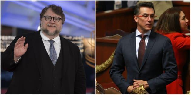 El cineasta mexicano, Guillermo del Toro, y el presidente de la Comisión de Cultura en San Lázaro, Sergio Mayer, coincidieron en el apoyo que se le debe dar a plataformas como el FICM.
