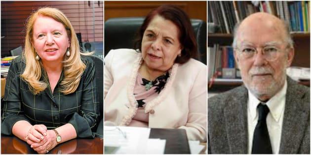 Loretta Ortiz, Celia Maya García y Juan Luis González Alcántara son la terna propuesta por el presidente Andrés Manuel López Obrador para ocupar la vacante existente en la Suprema Corte de Justicia de la Nación.