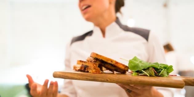 La chef des restaurants LOV Stéphanie Audet