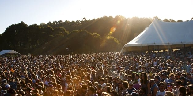 Falls Festival at Marion Bay has been marred by reports of sexual assault.