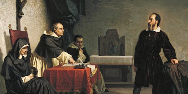 Galileo Galilei davanti all'Inquisizione
