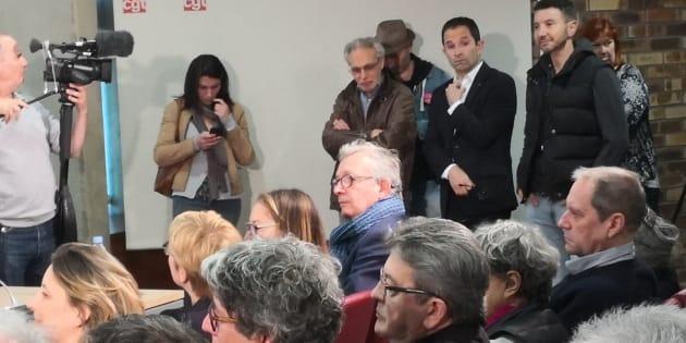 Jean-Luc Mélenchon, Benoît Hamon, Olivier Besancenot et Pierre Laurent réunis pour la première fois