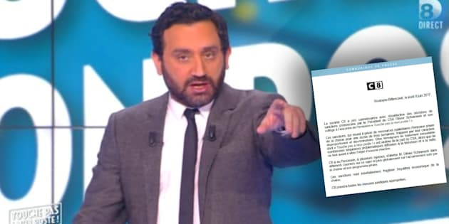 """C8 dénonce l'acharnement du CSA après ses sanctions contre """"TPMP"""" de Cyril Hanouna"""