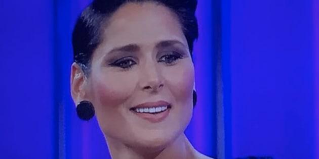 Rosa López, en la gala 0 de 'OT 2017'.