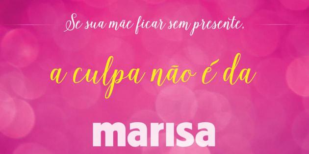 Campanha do Dia das Mães da Marisa chama atenção da internet.
