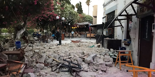 Terremoto tra Grecia e Turchia.  Due vittime e 120 feriti sull