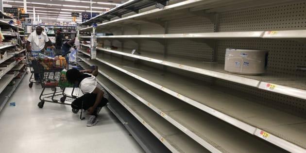 La Floride se prépare face à l'arrivée de l'ouragan Michael.