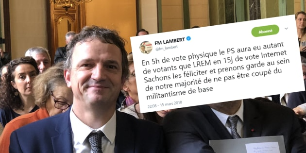 François-Michel Lambert, député LREM, met en garde son parti après la participation au Congrès PS.