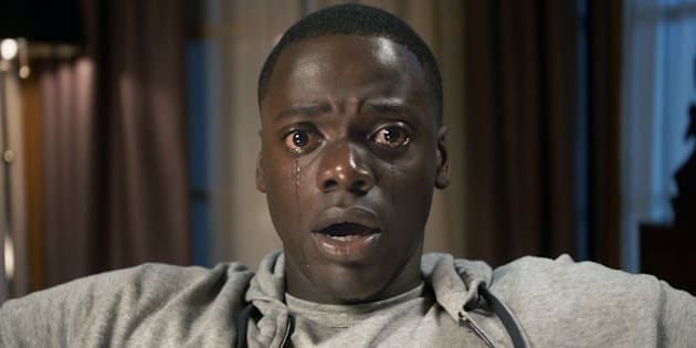 """DANIEL KALUUYA as Chris Washington in """"Get Out,"""" a speculative thriller from Blumhouse (producers of """"The Visit,"""" """"Insidious"""" series and """"The Gift"""") and the mind of Jordan Peele, when a young African-American man visits his white girlfriend's family estate, he becomes ensnared in a more sinister real reason for the invitation."""