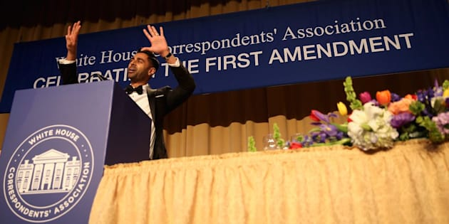 Comedian Hasan Minhaj hosted this yearWhite House Correspondents' Association Dinner.