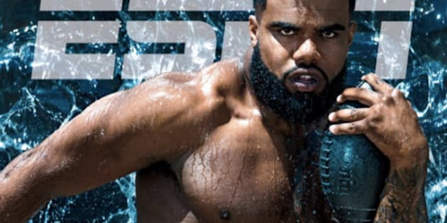 Cowboys running back Zeke Elliott graces the cover of the 2017 ESPN Body Issue.