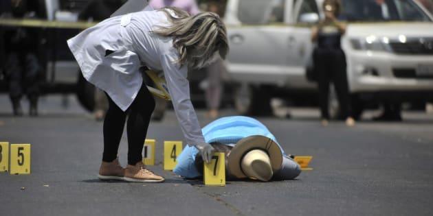 El cuerpo del periodista mexicano Javier Valdez, encontrado sin vida en Culiacán (Sinaloa, México) el pasado 15 de mayo. Valdez, de 50 años, fue el quinto periodista asesinado en 2017 en un país donde la violencia asociada a los carteles de la droga campa a sus anchas.