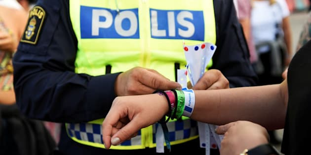 "Police officers handed out bracelets with the words ""Don't Grope"" at Sweden's Bravalla Festival last year in an attempt to clamp down on sexual violence at music events, reported The Washington Post. Five cases of rape and several sexual assaults were reported at last year's festival."