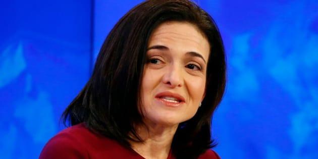 A executiva-chefe operacional do Facebook, Sheryl Sandberg.