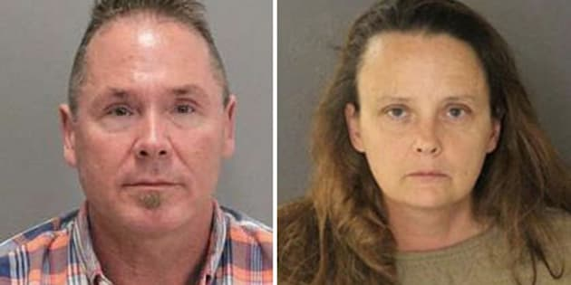 From left: Michael Kellar, 56, and Gail Burnworth, 50, were arrested as part of a child molestation investigation.