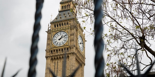 A view of the Elizabeth Tower, also known as Big Ben in Westminster, central London. Picture dated: Friday April 28, 2017. Photo credit should read: Isabel Infantes / EMPICS Entertainment.