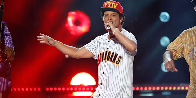 Bruno Mars donated to the Community Foundation of Greater Flint.