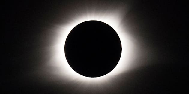 A rapper who challenged warnings about not wearing protective eyewear during Monday's solar eclipse has abruptly cancelled three of his upcoming shows.