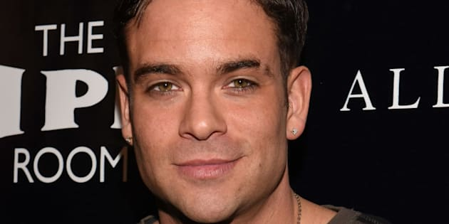 Mark Salling at an event in 2015.