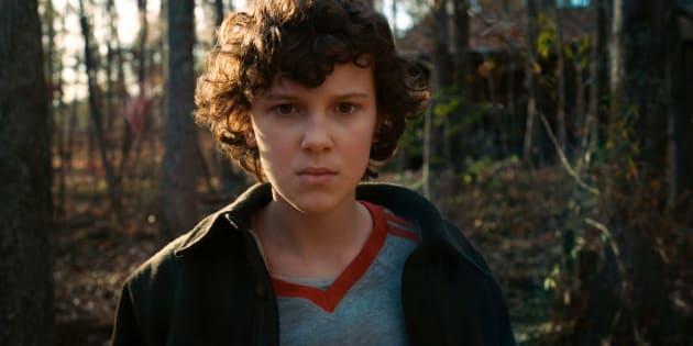 Nesta nova temporada, Eleven percebe que tinha uma amiga no Laboratório Nacional Hawkins quando era pequena.